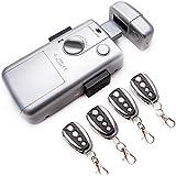 Cerradura electronica Inteligente invisible con 4 mandos RC LOCK. Color plata.