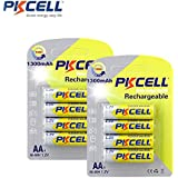 8 (4Pieces/Card) AA NIMH Rechargeable Battery 1300mAh Recyles 1000times