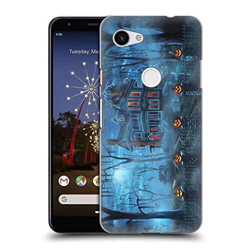 Head Case Designs Offizielle Geno Peoples Art Neblig Magie Halloween Harte Rueckseiten Huelle kompatibel mit Google Pixel 3a