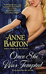 Once She Was Tempted (A Honeycote Novel) by Anne Barton (2013-10-29)