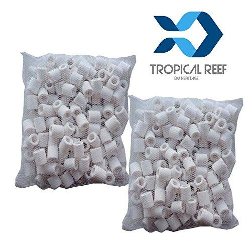 Tropical Reef - Nouilles en céramique pour filtres d'aquariums et de bassins à poissons - 1 000g