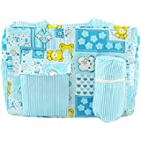 Ole Baby Big Amazing Striped Smart Organizer Best Material 100% Cotton, Multi-Function Diaper Bag.