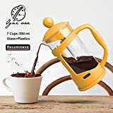 Best Grinder For French Press Coffees - Pinkdose® Yellow: Obr Portable Hand Pressure Machine Coffee Review