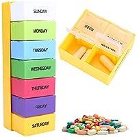 Behälter für wöchentliche Pille-7days-Fächer Arzneimittel Wasserdicht für jeden Tag der Pille der Medizin preisvergleich bei billige-tabletten.eu