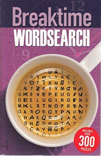 Breaktime Wordsearch