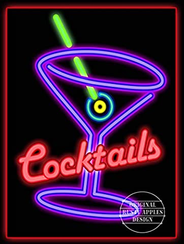 COCKTAIL PURPLE RETRO CAFE PUB HOTEL,WINE BAR,MANCAVE,HOME DECOR,METAL SIGN