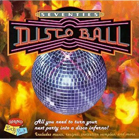 70's Disco Ball Party Pack by Various Artists
