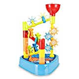 SainSmart Jr. Sandspielzeug Sandspielset Wassermühle Sandkasten Strandspielzeug für Wasser und Sand mit Zubehör für Kinder im Summer