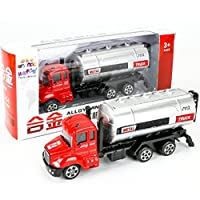 Winkey Best Gift Toy for Age 1 2 3 4 5 6 7+ Baby Boy Girls, 1:64 Alloy Simulate Engineering Toy Car Mining Car Truck Children