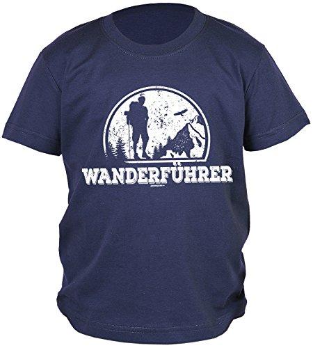 Buben/Kinder-Shirt/Kletter/Wander/Bergsteiger/Boy-Shirt: Wanderführer für Wanderfreunde (Spielen Bergsteiger)