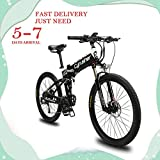 extrbici MTB Mountain Fahrrad xf770 43,2 x 66 cm faltbar E-Bike Mountain 500 Watt 48 V Shimano 27 Geschwindigkeiten Aluminium Rahmen faltbar Metalllegierung Dual, hydraulische Scheibenbremsen