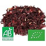 Fleurs d'Hibiscus séchées Bissap Karkadé Bio 1kg