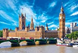 1000 piece jigsaw puzzle (26x38cm) Westminster Palace Big Ben by Beverly