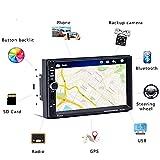 WWCAR 2DIN Auto Stereo Multimedia Player GPS Navigaiton Kamera Karte 7' HD Touch Screen Bluetooth Autoradio 7018G MP3 MP5 Player