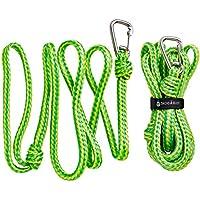 Premium PWC 42085000Dock Lines/Tow Seilen   Heavy Duty geflochtenen Line   2PC Bundle 7ft & 14ft Längen   von såk Gear