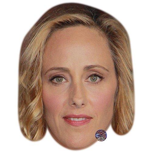 Celebrity Cutouts Kim Raver Maske aus Karton