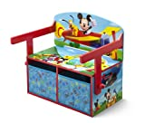 Delta Enterprises Mickey Mouse - Pupitre 3 en 1 Mickey