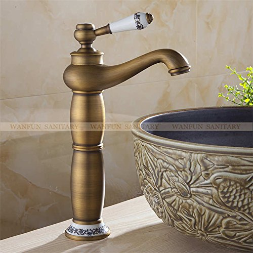 Maifeini Heißes Bad Verkaufen Wasserhahn Armatur Chrom, Messing Verchromt Waschbecken Badezimmer Faucet Single Handle Faucet, Antiquitäten