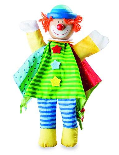 Checklife 905478 Handpuppe Clown Kasperletheater Puppenspiel Puppen