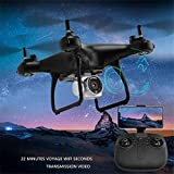 RC Drone 720P HR Aerial Photography Drone 601 with 2 megapixel wide-angle camera ensure altitude hold for clearer aerial photography Real-Time Transmission Aerial Remote Control Aircraft 5G Wifi