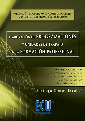Elaboración de programaciones y unidades de trabajo en la formación profesional