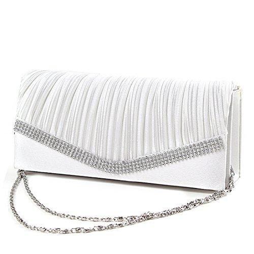SSMKClutch Bag - Boesa da sera Donna White