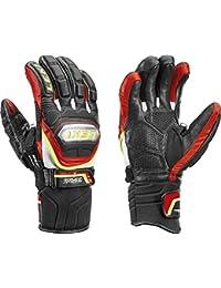 Leki - Worldcup Race Ti S Speed System, color rojo,negro, talla 8
