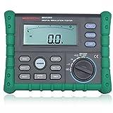 Olymstore Isolationsmessgerät Isolationstester mit Zubehör Digitale 250-2500V