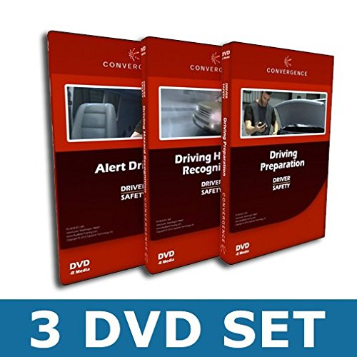 Safety Training DVD Combo-Pack: Driver Safety, 3 Disc