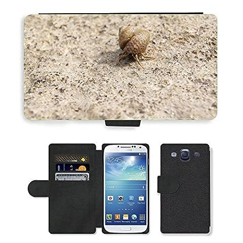 hello-mobile PU LEDER LEATHER FLIP CASE COVER HÜLLE ETUI TASCHE SCHALE // M00136633 Einsiedlerkrebs Shell Snail Meer Natur // Samsung Galaxy S3 S III SIII i9300