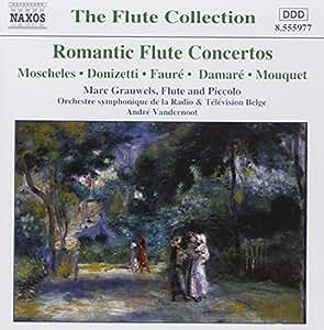 Concertos Romantiques Pour Flûte