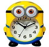 #10: MINIONS TABLE/WALL ALARM CLOCK / DESK CLOCK FOR KIDS/WALL DECOR FOR KIDS ROOM, HOME DECOR