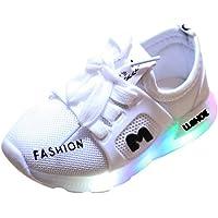 Basket LED Enfant Garcon Fille 12 18 24 Mois 2 3 4 5 6 Ans Chaussures Lumineuse Respirant Amortisseur Enfant Sneakers…