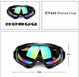 CADETBLUE. UV-Protection All Weather Bicycle/Bike Plastic Glasses for Men and Women (Multicolour)