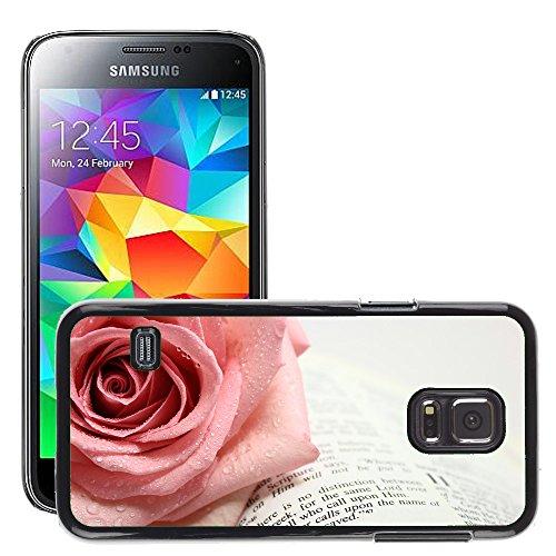 Hülle Case Schutzhülle Cover Premium Case // V00001707 Seite von einer offenen Bibel // Samsung Galaxy S5 MINI SM-G800