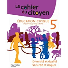 Le Cahier du citoyen 5e - Edition 2010