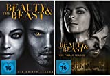 Beauty & (and) the Beast - die komplette Season 3+4 im Set - Deutsche Originalware [8 DVDs]