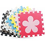 Xiong Guo 10pcs Baby Children Kid Waterproof Eva Rubber Foam Puzzle Floor Safety Play Mat (Mixed)