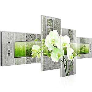 Bilder Blumen Orchidee Wandbild 200 X 100 Cm Vlies   Leinwand Bild XXL  Format Wandbilder Wohnzimmer