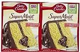 Betty Crocker Super Moist Cake Mix, Butter Recipe Yellow - 15.25 oz box by Betty Crocker
