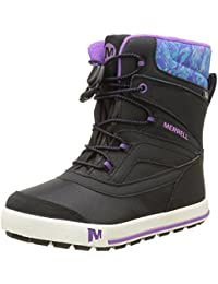 Merrell ML-Girls Snow Bank 2.0 WTRPF, Botas de Senderismo para Niñas