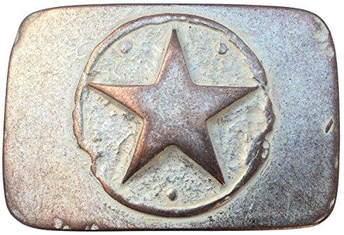1 Gürtelschliesse Schnalle Wechselschnalle Buckle Stern für 4 cm Gürtel 5 Farben