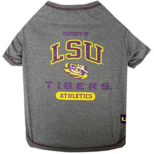 LSU Tigers NCAA Dog Pet Tee T-Shirt, X-Small -