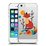 Head Case Designs Offizielle Andy Westface Regenbogen Fuchs Tierwelt Soft Gel Hülle für Apple iPhone 5/5s/SE