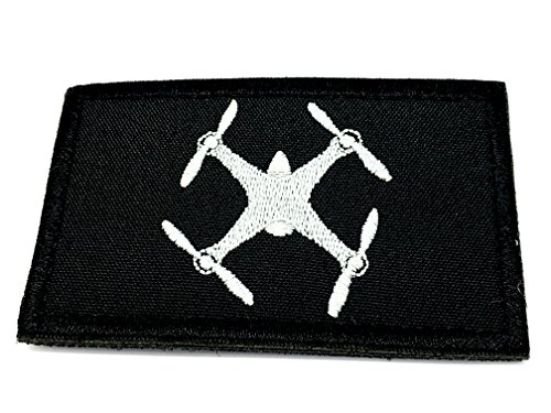 Drone Cosplay Airsoft brodée Patch Patch Nation
