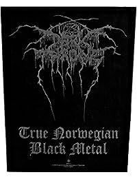Darkthrone rückenaufnäher true norweigan darkthrone backpatch noir métal