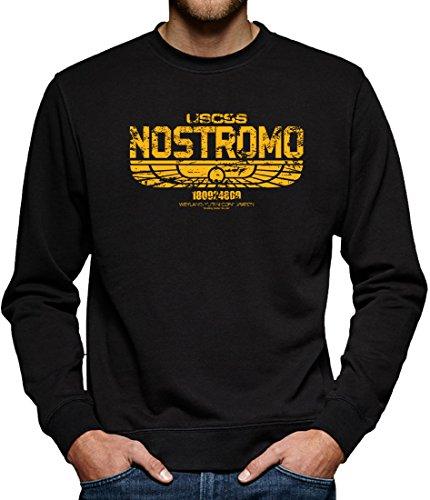 TLM USCSS Nostromo Sweatshirt Pullover Herren XXXL Schwarz