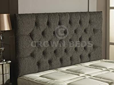 CHESTERFIELD DIAMANTE BUTTON HEADBOARD IN 2ft5,3ft,4ft,4ft6,5ft,6ft !!!!NEW!!!!