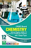 CBSE Board Class 12 Chemistry Solved Papers (2008 - 17) in Level of Difficulty Chapters with 3 Sample Papers