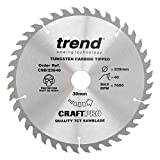 Trend CSB/23540 Trend CSB/23540 CRAFT SAW BLADE 235MM X 40T X 30MM - Silver